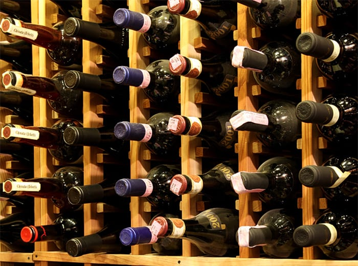 Wine Storage Racks - LI Wine Tastings
